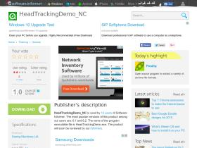 headtrackingdemo-nc.software.informer.com