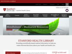 healthlibrary.stanford.edu