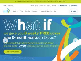 Hif Travel Insurance Compare