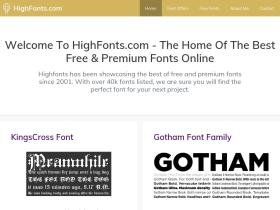 highfonts.com