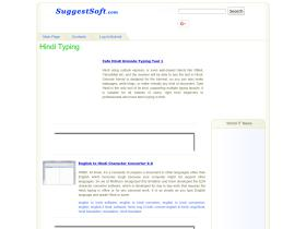 hindi-typing.suggestsoft.com