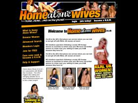 homealonewives.co.uk
