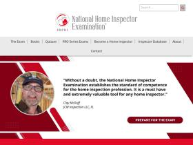 homeinspectionexam.org
