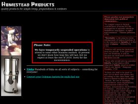 homestead-products.com