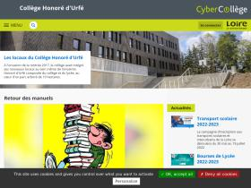 honoredurfe.cybercolleges42.fr