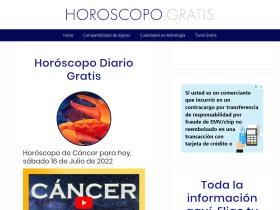 horoscopodecancer.es