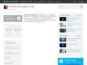 hotfax-messagecenter.software.informer.com