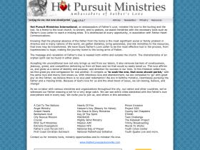 hotpursuitministries.com