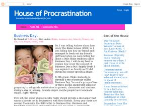 houseofprocrastination.blogspot.com