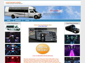 houstonpartybuses.com