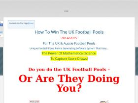 how-to-win-the-football-pools.uk-digital-products.com