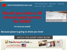 howtocompletesurveys.com