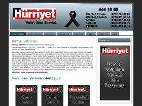 hurriyetevefatilani.com