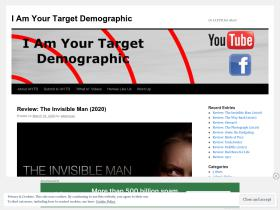 iamyourtargetdemographic.wordpress.com