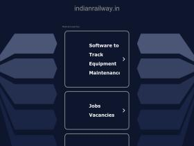 indianrailway.in