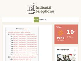 indicatif-telephone.com