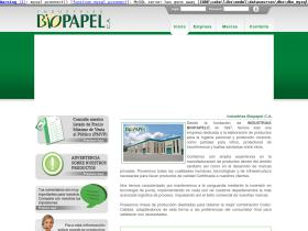 industriasbiopapel.com.ve