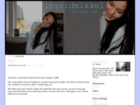 ingridmikkel.blogg.no