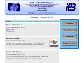 inscripcion-postgradoipb.com.ve