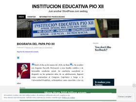 institucioneducativapioxii.wordpress.com