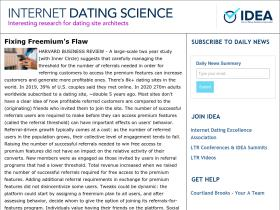 Online dating science