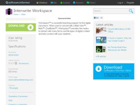 interwrite-workspace.software.informer.com