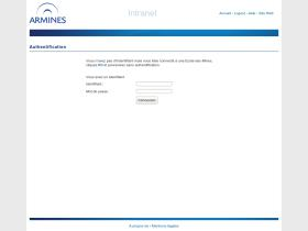 intranet.armines.net