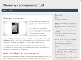 iphone4sabonnement.nl