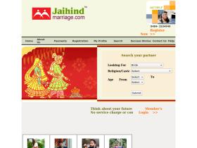 jaihindmarriage.com