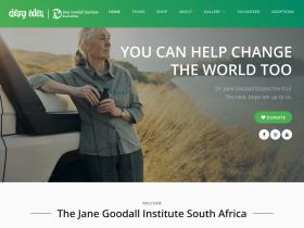 janegoodall.co.za
