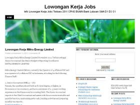 jobs.lowongankerja.in