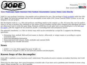 jode.sourceforge.net