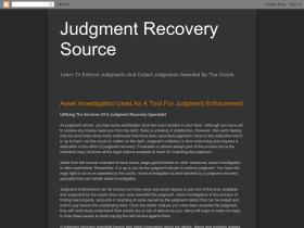 judgmentrecoverysource.blogspot.com