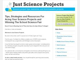 justscienceprojects.com