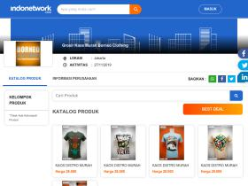 kaosdistromurah.indonetwork.co.id