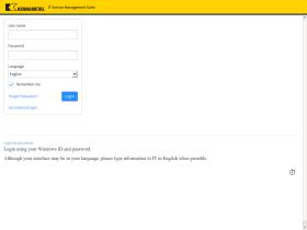 kennametal.service-now.com