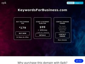 keywordsforbusiness.com