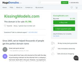 kissingmodels.com