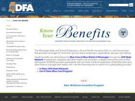 knowyourbenefits.dfa.state.ms.us