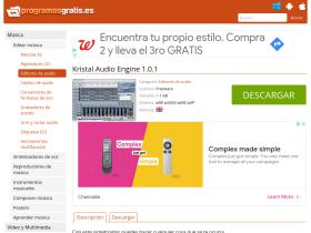 kristal-audio-engine.programasgratis.es
