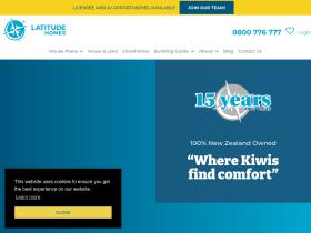 latitudehomes.co.nz