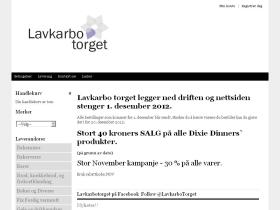 lavkarbo-torget.no