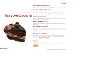 lazywebtools.co.uk