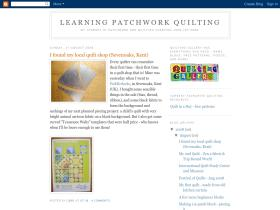 learningpatchworkquilting.blogspot.com