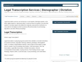 legaltranscriptionservices.org