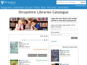 libraries.shropshire.gov.uk
