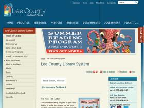 library.lee-county.com