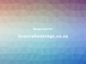licencebookings.co.za