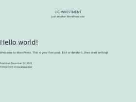 licinvestment.in