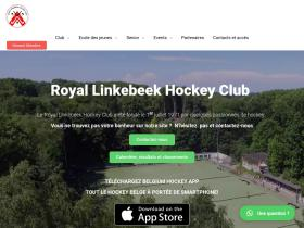linkebeek-hockey.be